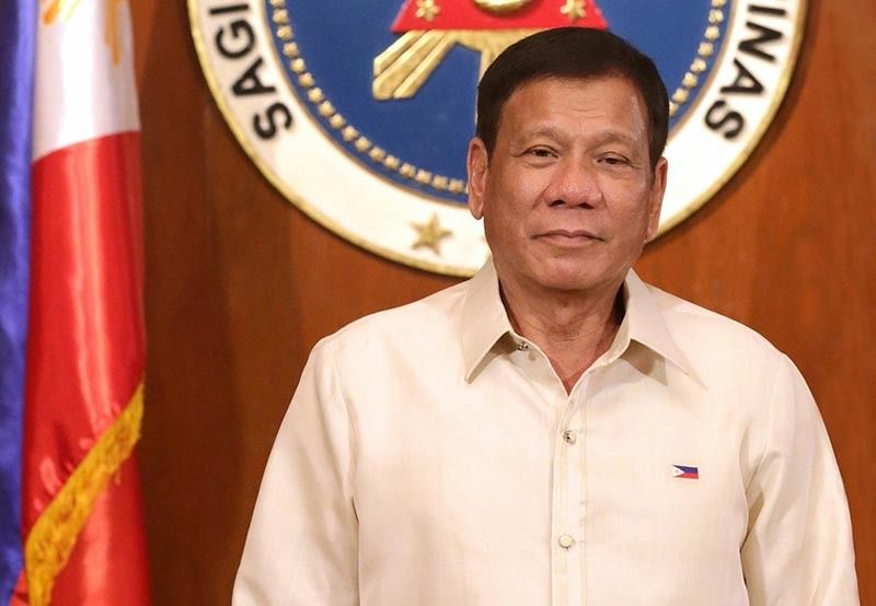 MANILA. President Rodrigo Duterte, in his message, wishes National Prisaa Games 2019 organizers, participants and guests a successful event. (Malacañang photo)