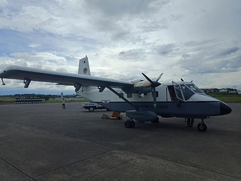 DAVAO. Major aircraft setback forced cloud seeding operations in affected areas in Davao del Sur and Davao del Norte to stop, according to the Department of Agriculture-Disaster Risk Reduction Management. (Roy Jose Pascua)