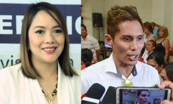 CEBU. Cebu City Councilors-elect Niña Mabatid and Dondon Hontiveros. (SunStar File)