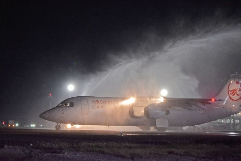 CEBU. Royal Air Philippines launched on Tuesday, May 21 its Cebu-Manila route boosting its presence in Cebu, the carrier's second hub after Clark.