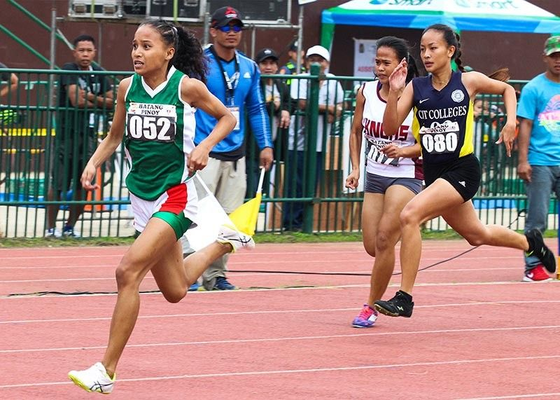 BAGUIO. Young athletes race against time in athletics during the Batang Pinoy national championships hosted by Baguio City in 2018. The annual sports competition organized by the Philippine Sports Commission awarded the hosting rights to Puerto Princesa, Palawan. (Jean Nicole Cortes)