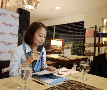 DAVAO. Prime Philippines regional operations head Chai Abaya said during Habi at Kape media forum Wednesday, May 22, 2019, that despite the increasing property market values in the city, they still see influx of interest from local and foreign investors. (Photo by Lyka Casamayor)