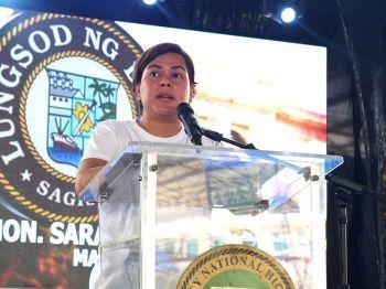 DAVAO. Davao City Mayor Sara Duterte-Carpio. (Photo by Ralph Lawrence G. Llemit)