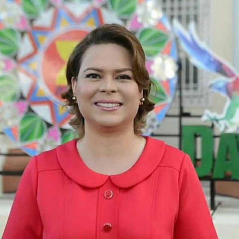(Photo from Sara Duterte-Carpio's Facebook)