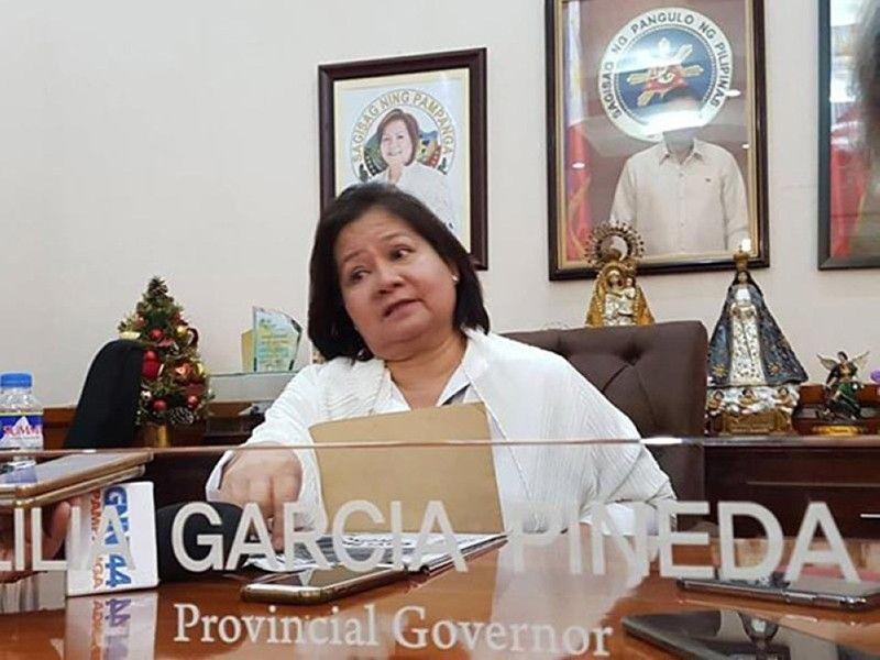 Governor Lilia Pineda (File photo)
