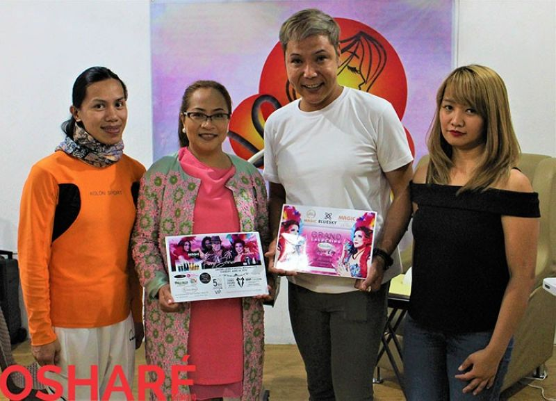 BAGUIO. With Derrich Inway Pres. of Pica Baguio Chapter (Phil. International Cosmetologists Asso.), Edz Santos and Rahma Duyanen of Must er' Piece, Creative Beauty Lounge. (Photo by Osharé)