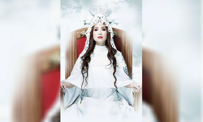 BAGUIO. Karen Anton as Queen of Prophets. Designer Ayvs Calub. (Contributed photo)
