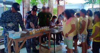 NEGROS. Oplan greyhound in Negros Occidental conducted by Philippine Drug Enforcement Agency, Philippine National Police and Bureau of Jail Management and Penology. (Contributed photo)