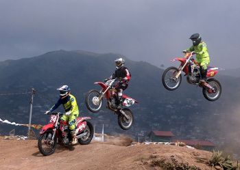 BAGUIO. Dirt bikes enthusiasts from all over the country are expected to join the the 1st Kapangan Invitational motocross slated May 26. (Photo by Roderick Osis)