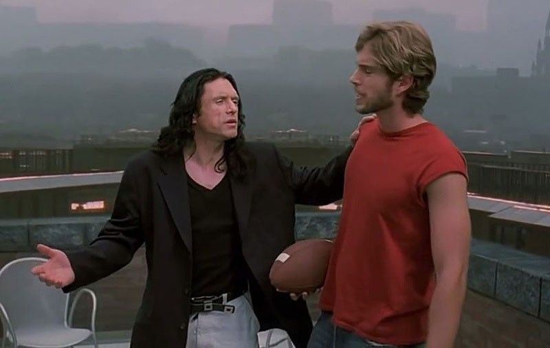 A Still from the original The Room, starring Tommy Wiseau and Greg Sestero. (Wiseau Films)