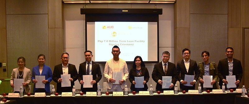 PAMPANGA. Widus Philippines Inc. as signed a 10-year omnibus loan of P7 billion with executives of Asia United Bank Corporation (AUB) and Union Bank of the Philippines (UB) for its hospitality infrastructure projects. (Contributed photo)