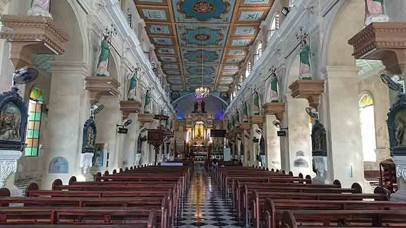 BEAUTIFUL. The Archdiocesan Shrine of St Catherine of Alexandria in Carcar City is steeped in history.  (SunStar Photo/Michelle P. So)