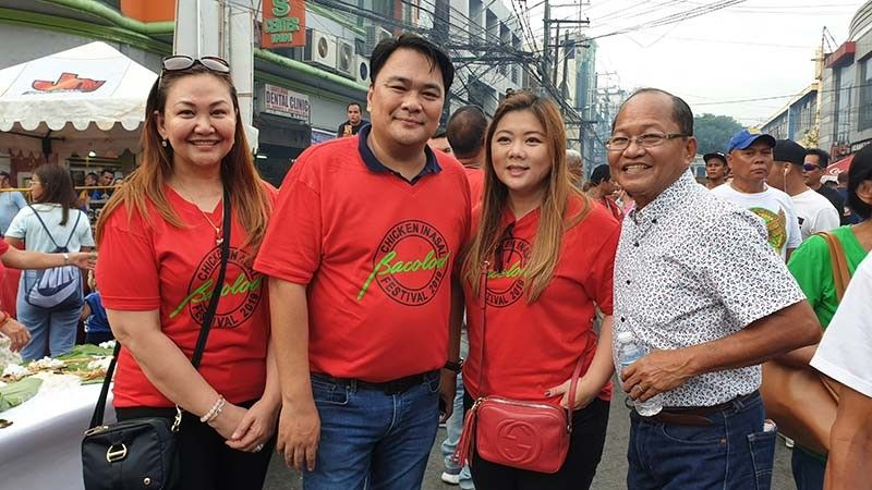 Councilor Em L. Ang, Bacolod Representative Greg Gasataya, Councilors Cindy Rojas and Bartolome Orola (Carla N. Cañet)