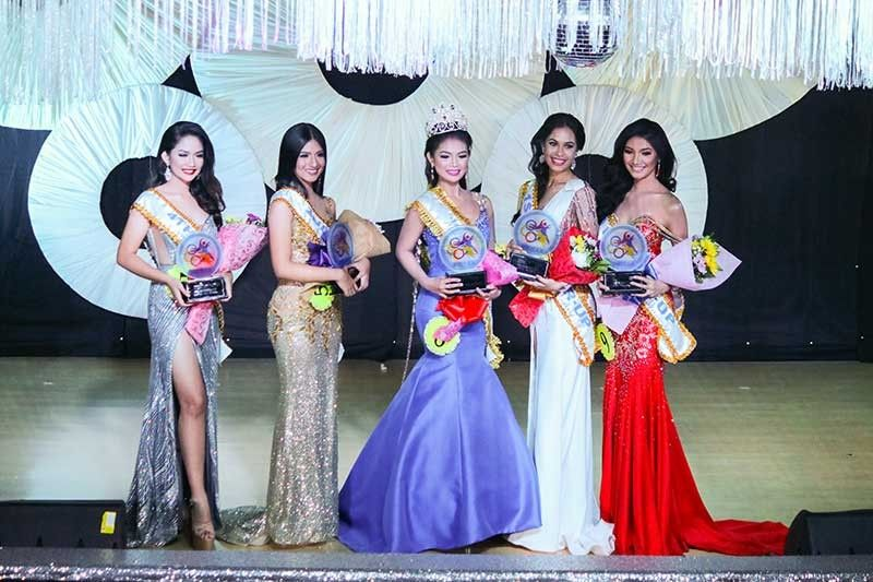 Rhianne Macy Zapata from Region 5 was crowned as the Mutya Ng Prisaa 2019 which was held at the University of Mindanao Auditorium on Thursday (May 23) evening. Her royal courts are as follows: from left - 4th runner-up - Nadryll Barbaton of Region 6; 2nd runner-up - Angela Mae Castriciones of Region 7; Mutya Ng Prisaa 2019 Rhianne Macy Zapata from Region 5; 1st runner-up Christine Nicole Silvernale of Region 3; and 3rd runner-up - Brigitte Flor Mercene of Region 11.