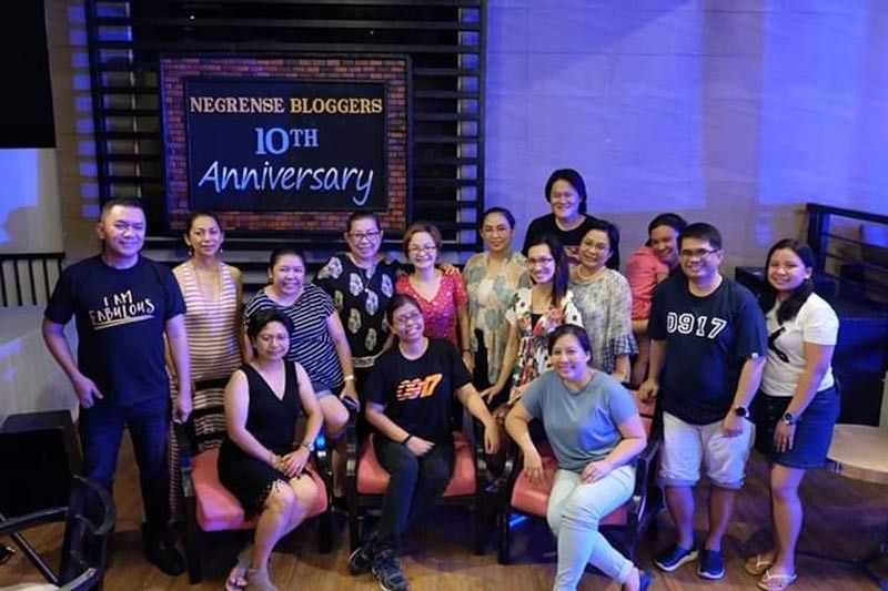 The community of Negrense Bloggers celebrated their 10th anniversary on May 26, 2019 at L'Fisher hotel in Bacolod City. (Contributed Photo)