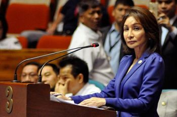 """Incoming governor and outgoing Rep. Gwendolyn """"Gwen"""" Garcia (SunStar file)"""