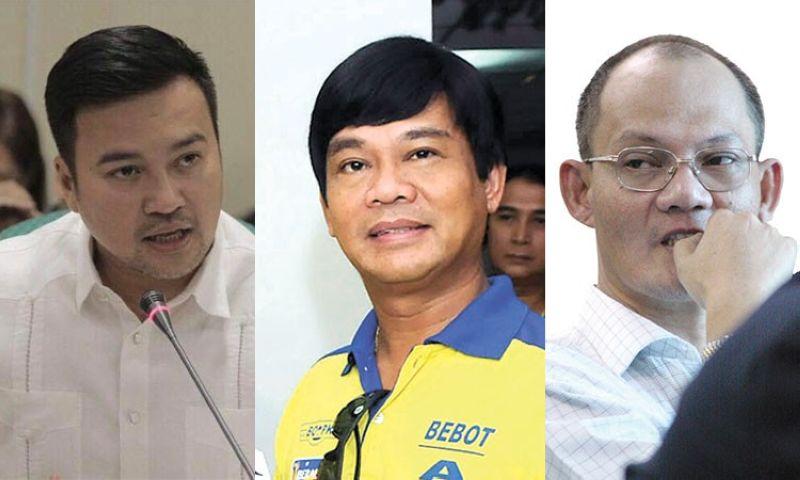 CEBU. (From left) Marinduque Representative Lord Allan Velasco, Cebu Representative Rodrigo