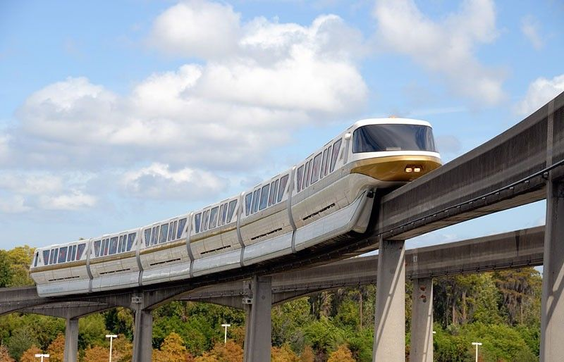 An example of a monorail (Image from Pixabay)
