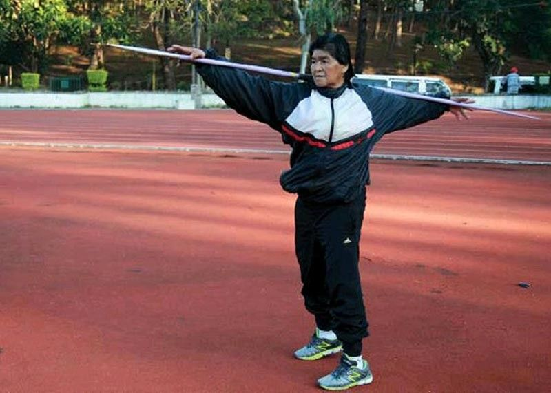 BAGUIO. After winning four gold medals in the Singapore Masters Athletics' 40th Anniversary Track and Field tourney at Bokit Gombak Stadium on May 2-4, Erlinda Lavandia is still looking forward to competing at 67. (SunStar Baguio File)