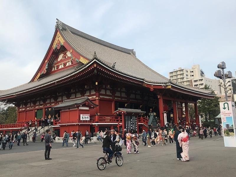 JAPAN. The Sensoji temple. (Jinggoy I. Salvador)