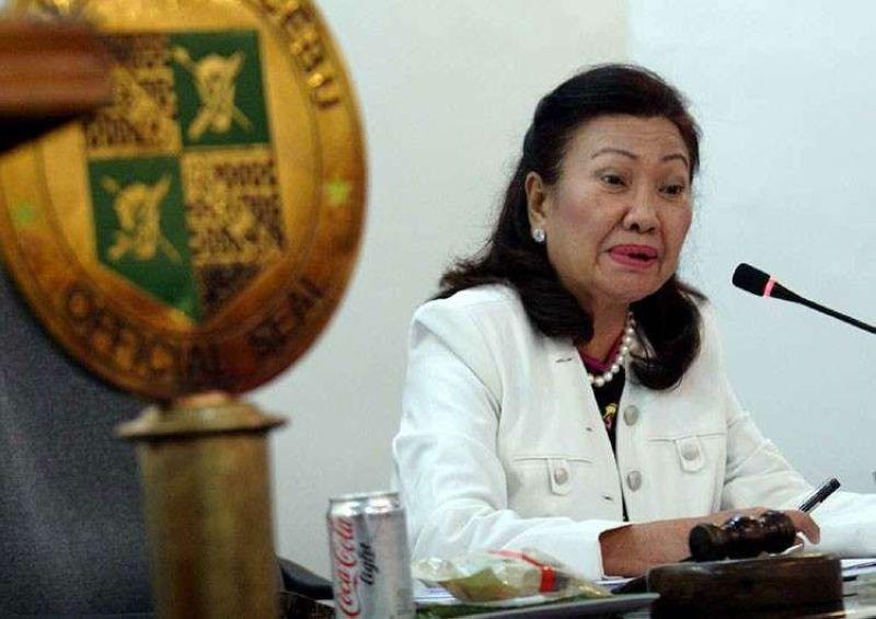 CEBU. Outgoing Cebu Vice Governor Agnes Magpale. (SunStar File)