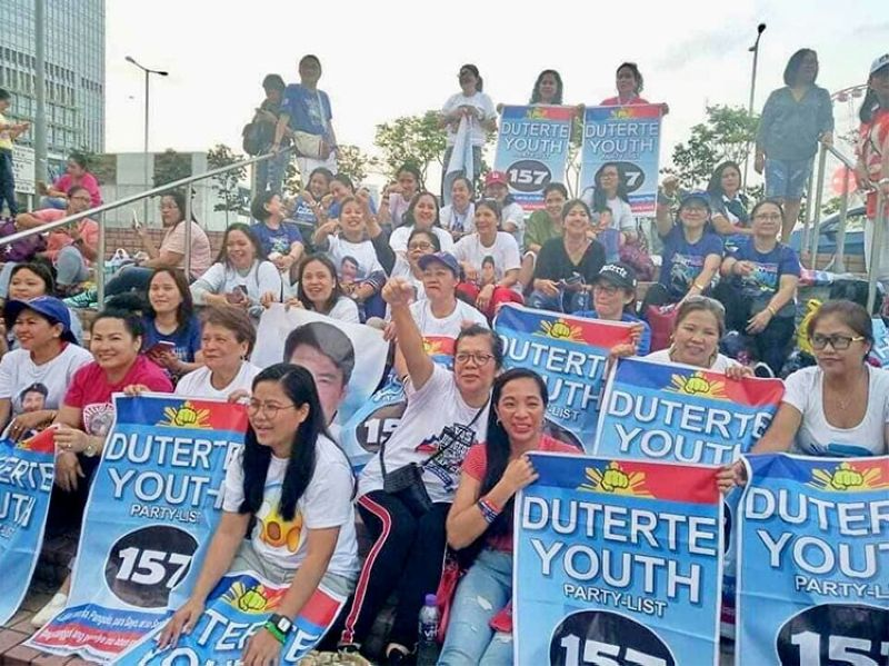 Photo from Duterte Youth Party-list Facebook page