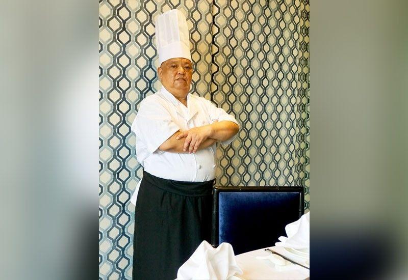 NEW CHEF. Hai Shin Lou Cebu Dim Sum Chef Wong Hon Chau.