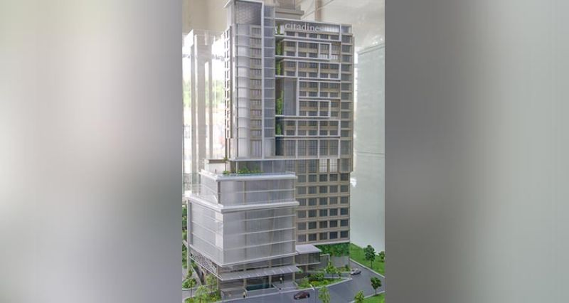 CITADINES SCALE MODEL. Cebu Landmasters president Jose Soberano III says the country's tourism growth  is encouraging, although it still lags behind countries like Thailand. (SunStar file)