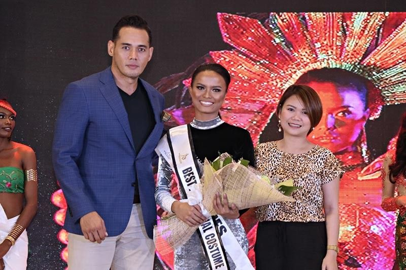 BACOLOD. Miss Claire Therese Porras of the Philippines was named Best in Festival Costume. (Photo by Stephen Kenneth Eliserio of NEG PH)