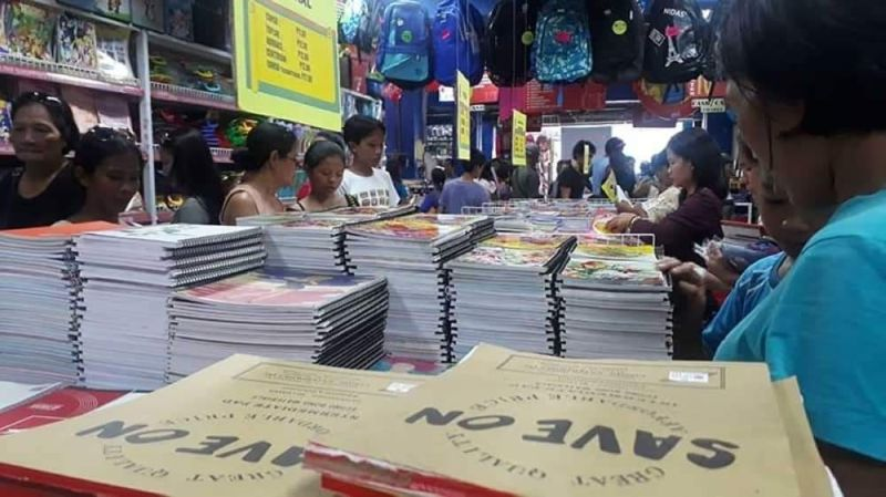 BACOLOD. School supplies sold in one of the commercial establishments in Bacolod City. (SunStar file photo)