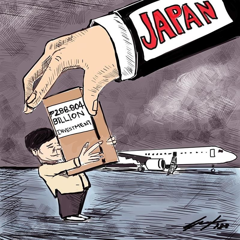 (Editorial Cartoon by Enrico Santisas)