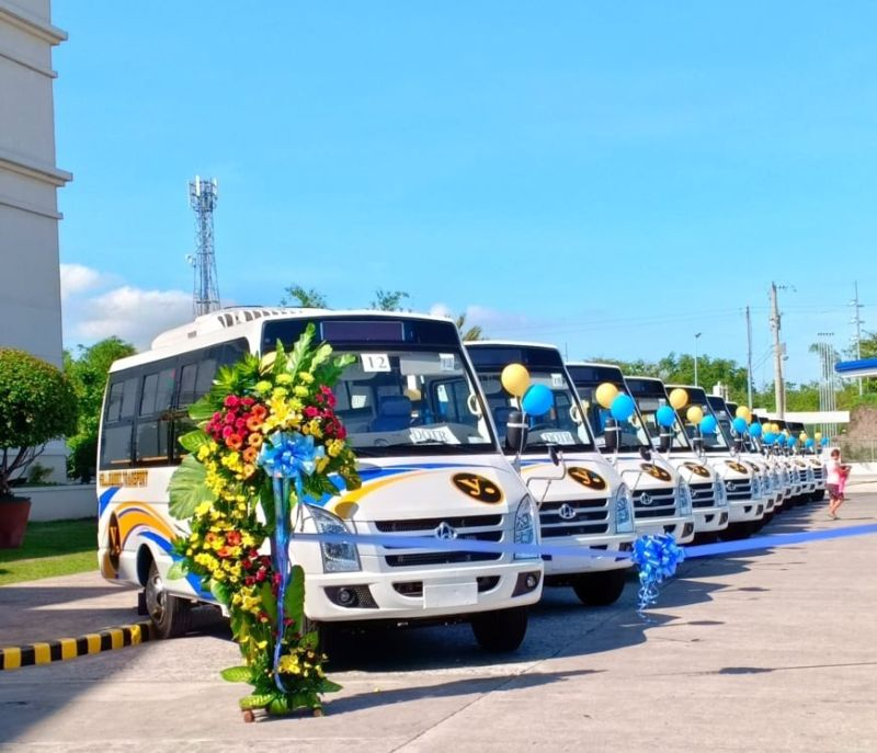 BACOLOD. Unetco presents the modernized jeepneys that will soon ply the streets of Bacolod City and Negros. (Contributed photo)