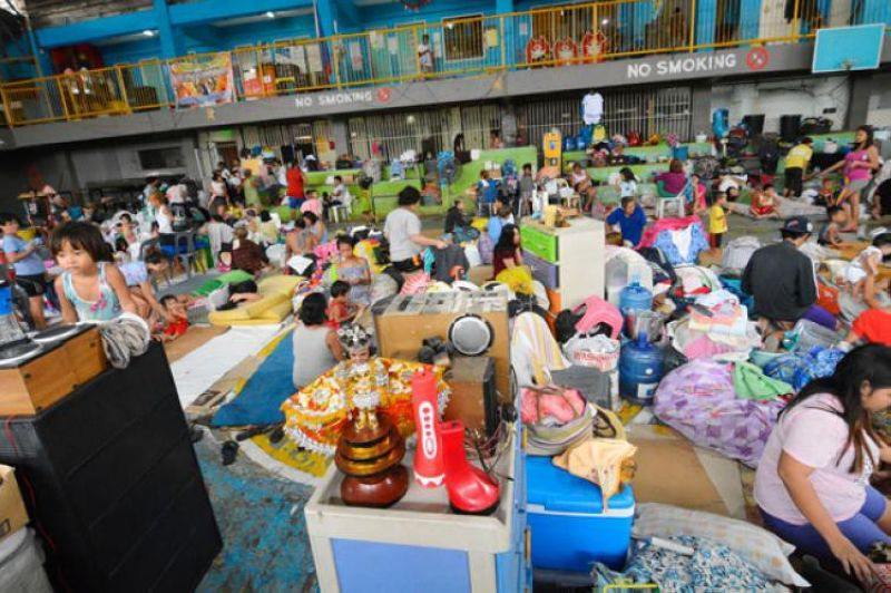 NO MORE DISRUPTIONS. Through proper planning and mobilization, local governments can construct or rehabilitate evacuation facilities so there is no need to use public schools as temporary shelters, which disrupts classes and shortchanges the youths in their learning. (File Foto)
