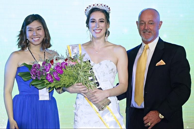 BACOLOD. Miss Culture International Queen 2019 Jasmine Elliott of Australia with her court (from left) first runner-up Miss Claire Therese Porras of the Philippines; Miss Flora Garcia Siagian of Indonesia who was named Miss Culture International for Heritage; Miss Karen Elizabeth Garcia of Mexico as MCI for the Arts and Miss Sylvernie Belinda Engelbert of Malaysia who was named second runner-up during the coronation night held at SMX Convention Center in Bacolod City on May 31, 2019. (Photo by Stephen Kenneth Eliserio of NEG PH)