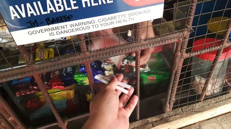CEBU. Sari-sari store owners are divided whether they will continue selling cigarettes at a higher price after the Senate approved the sin tax bill on cigarettes. (SunStar File)