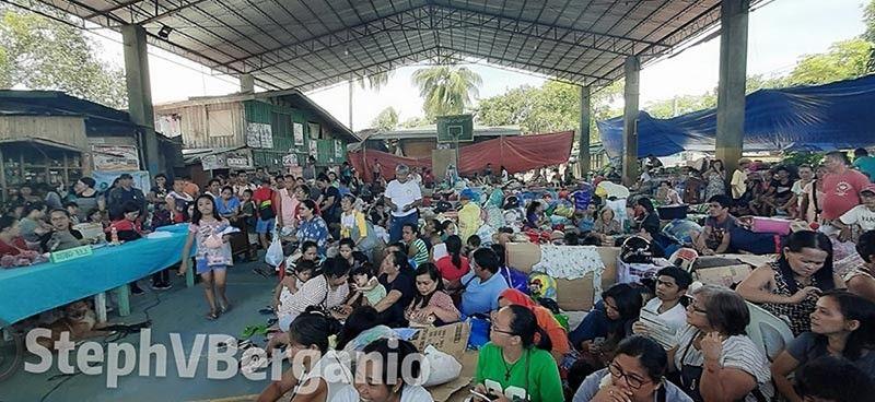 ILIGAN. Ang kahimtang karon sa 194 ka pamilya nga nasunogan sa Barangay Ubaldo Laya, Iligan City niadtong Mayo 31, 2019. (Steph V. Berganio)