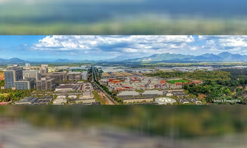 Lima estate aerial conceptual image.