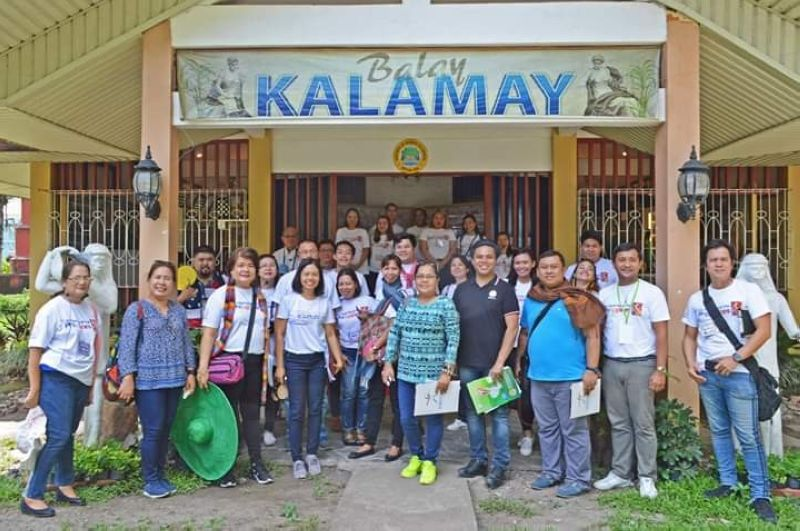 BACOLOD. Provincial supervising tourism operations officer Cristine Mansinares (fourth from left) with trainers, speakers, program partners and participants of the Tour Guiding Training Course during their final practical exam at Balay Kalamay, Panaad Park in Bacolod City on June 2. (Contributed photo)