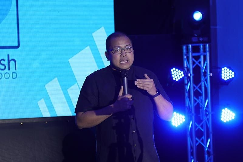 DAVAO. Gcash vice president for corporate communications Reyner Villasenor said the GCash for Good program will enable Dabawenyos to donate online through the GCash mobile money application. (Photo by Mark Perandos)
