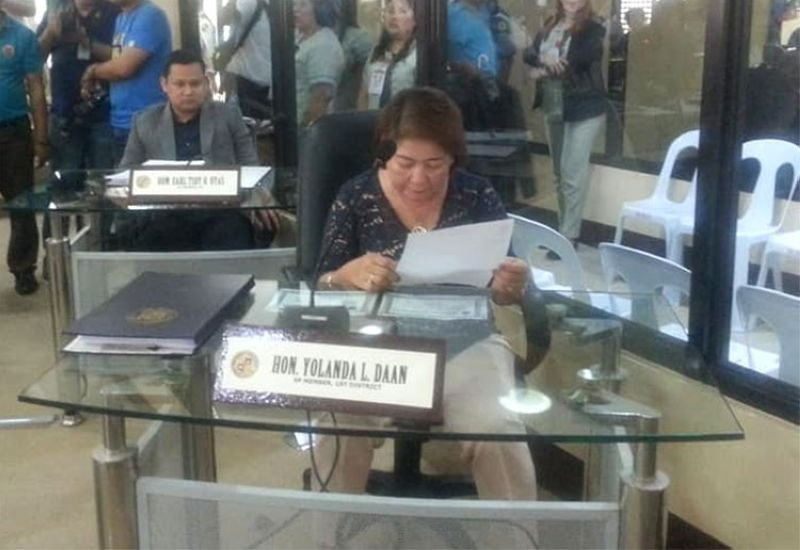 CEBU. Board Member Yolanda Daan. (Photo from Daan's Facebook account)