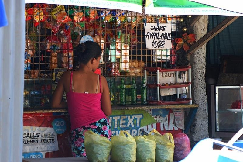 DAVAO. Most sari-sari store owners in Davao City said they will remain selling cigarettes even if the price gets higher with the proposed sin tax bill on Tobacco. (Photo by Mark Perandos)