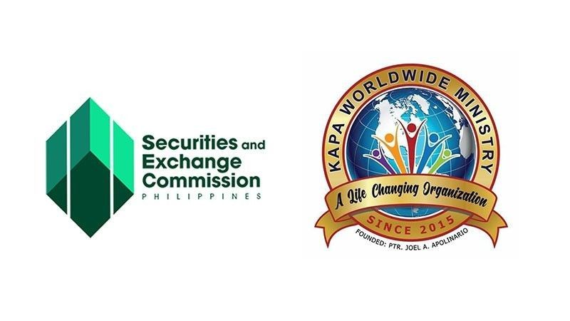 Logo courtesy of Securities and Exchange Commission and Kapa-Community Ministry International, Inc. Facebook page