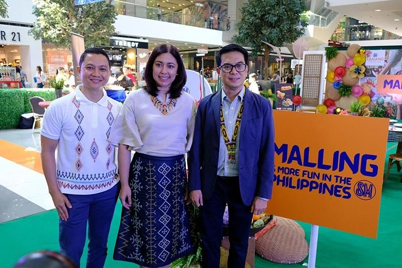 DAVAO. SM Supermalls Mindanao marketing AVP Russel Alaba; DOT Davao Region director Tanya Rabat-Tan; DOT assistant secretary Roberto Alabado III. (Contributed photo)