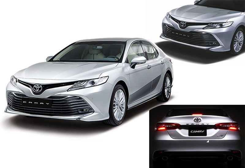 """EIGHTh GENERATION. The all-new Toyota Camry is made with Toyota's New Global Architecture, designed with """"Sensual-Smart Confidence."""""""