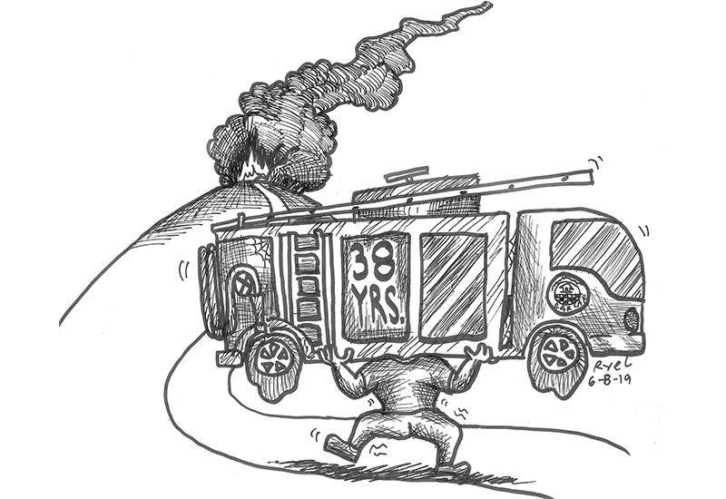 Editorial Cartoon by Ariel Itumay