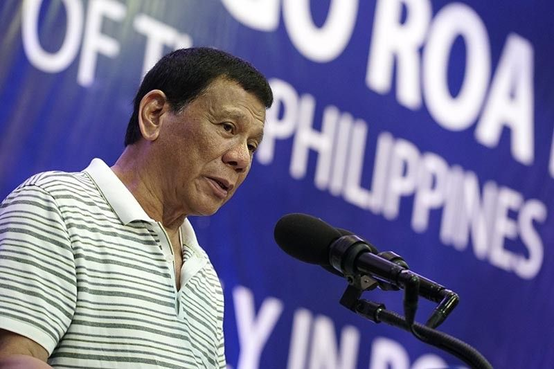 Duterte (Photo from Presidential Communications Facebook page)