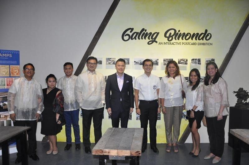 MANILA. Pilipinas Philately officials led by Mr. Maxi Sta. Maria (fourth from left), Manager, PHLPost Business Lines Department together with Mr. Kevin Tan CEO of Alliance Global Group, Inc. and Incoming City of Manila Mayor Isko Moreno at the Grand Launch of Chinatown Museum. (Contributed photo)