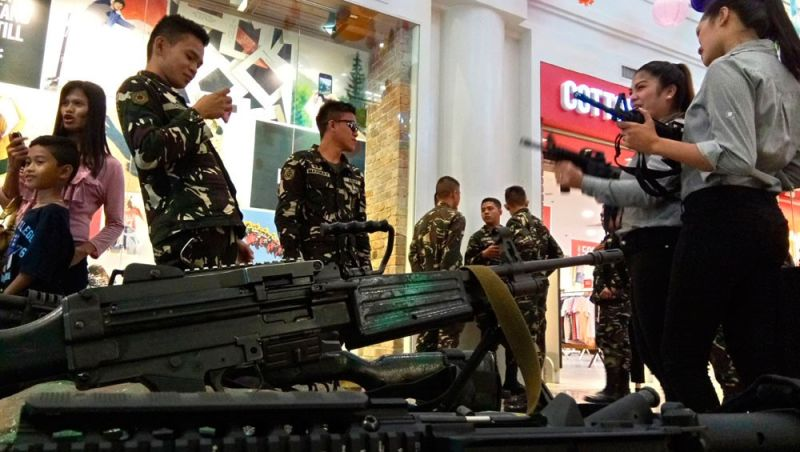 BEYOND THROWBACK. What does liberation mean for you? The ongoing mall exhibit of the Armed Forces of the Philippines, Kagawasan 2019, focuses on the heroism of Cebuano Katipuneros. (File Foto)