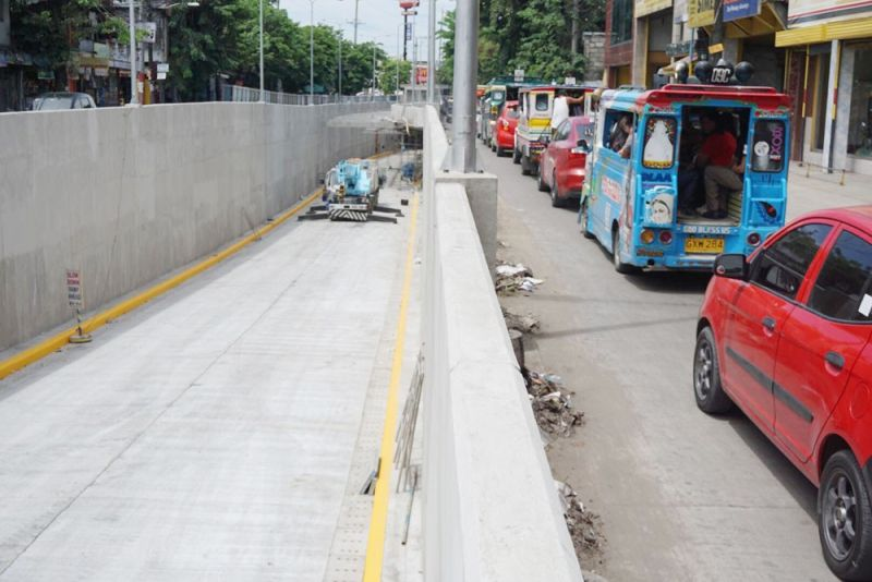 FINISHED, FINALLY. After almost two years of construction, the 700-meter underpass on N. Bacalso Ave. in Barangay Mambaling, Cebu City will finally be opened to the public on June 15, 2019. To prevent the area from getting too congested during peak hours, the City Transportation Office plans to continue diverting buses and mini buses to the south coastal road. (SUNSTAR FOTO / ALEX BADAYOS)