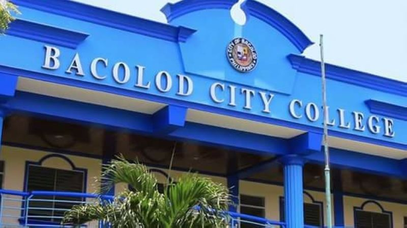 Bacolod City College (Photo grabbed from Bacolod City College's Facebook)